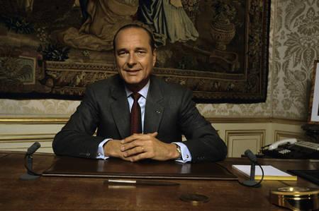Rdv avec Jacques Chirac à Matignon en 1987