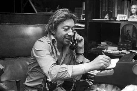 Meet Serge Gainsbourg at home