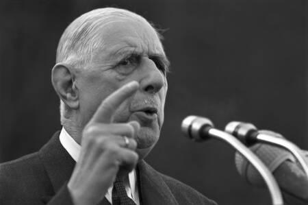 Voyage du Général de Gaulle en Bretagne en 1969