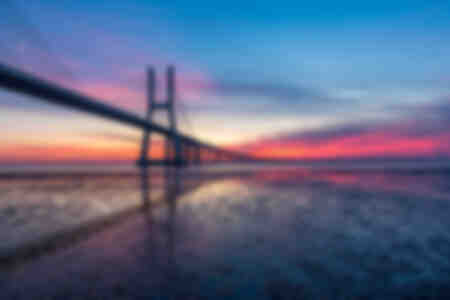 Vasco da Gama sunrise