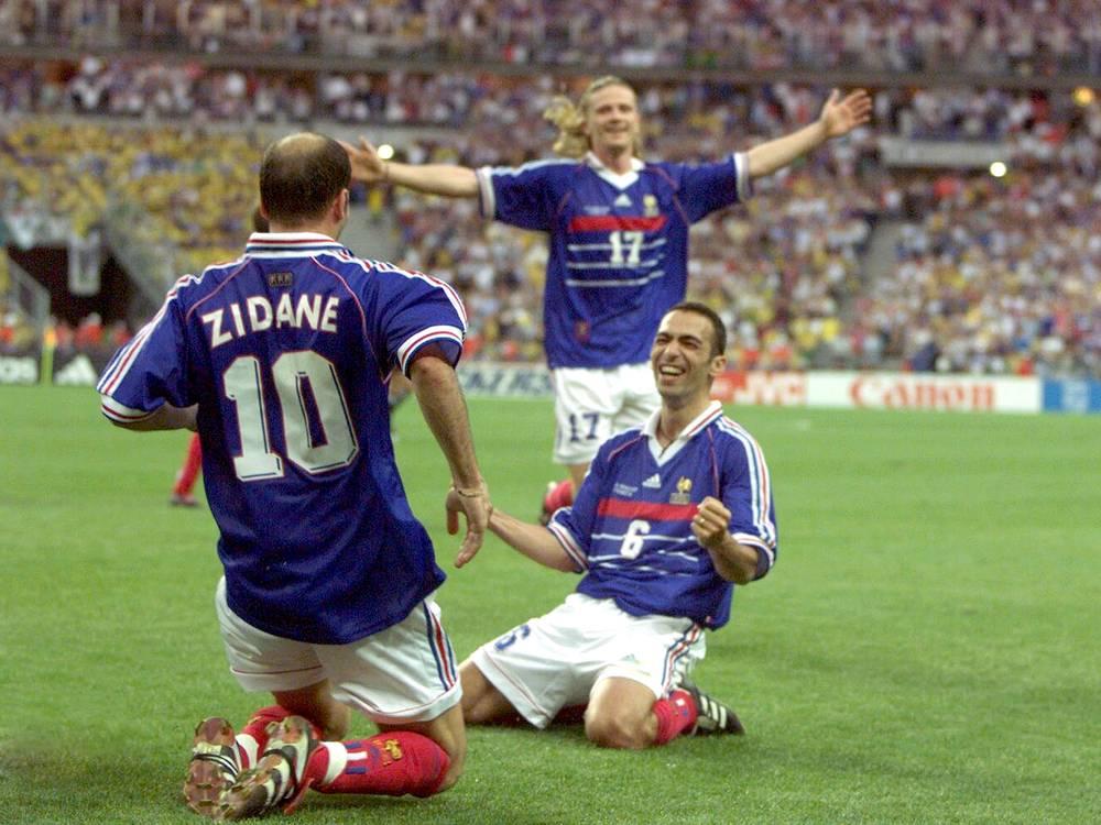 Photos d 39 archives du journal l 39 equipe achat vente - Tous les buts coupe du monde 1998 ...