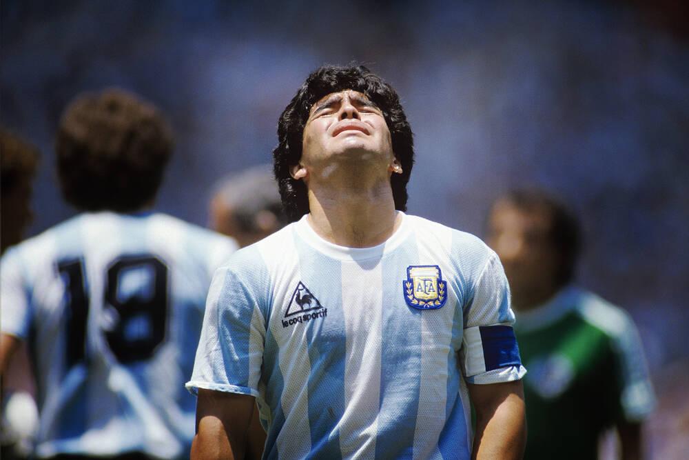 Diego Maradona Photographic Print For Sale