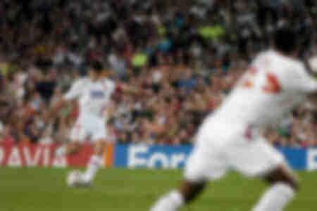 Barcelona gegen Lyon - Juninho 2007
