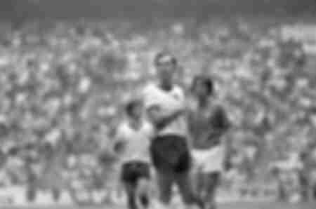 Beckenbauer Italie-Allemagne Coupe du Monde 1970