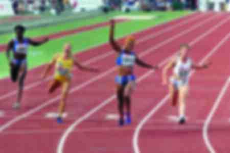 Christine Arron championne du monde du relais