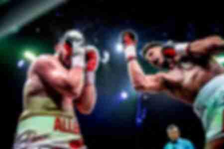 Combat Toni Yoka contre David Allen