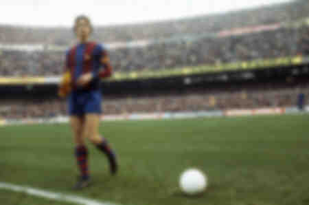 Cruyff at Camp Nou in 1978