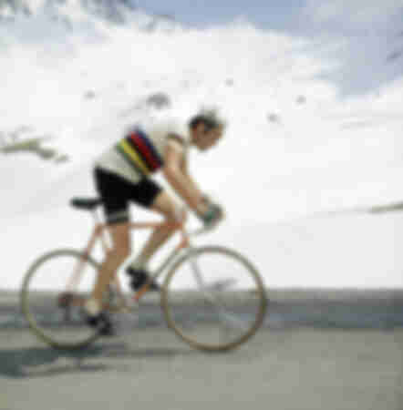Eddy Merckx in full effort