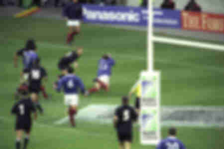 Try - France vs New Zealand 2003