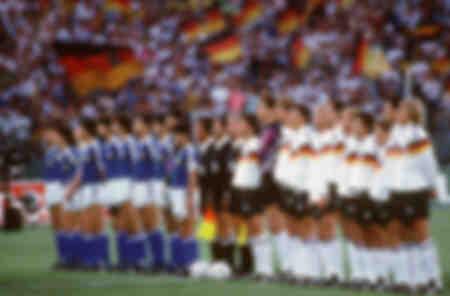 Fußball-Weltmeisterschaft Finale 1990