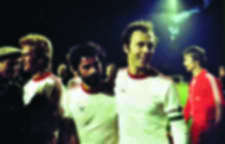Gerd Müller con Franz Beckenbauer
