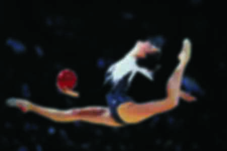 La championne de gymnastique rythmique Ekaterina Serebrianskaya