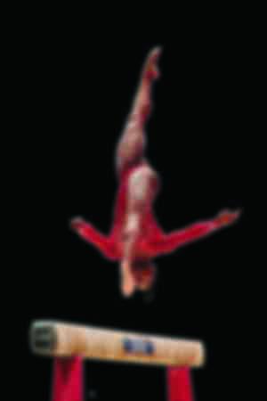La gymnaste artistique américaine Biles Simone