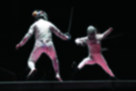 Le match de sabre féminin  pour la médaille d'or 2019