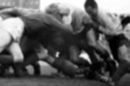 Rugbywedstrijd tussen Frankrijk en Ierland