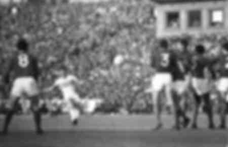 Match Hungary - France - Euro 1964