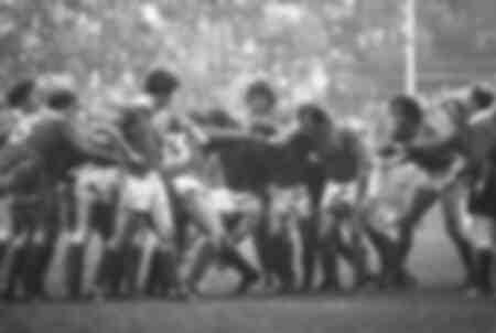 Mêlée de rugby - Match Irlande - France