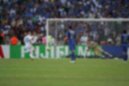 Panenka de Zidane Finale Coupe du Monde 2006 France Italie
