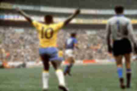 Pele Brazil-Italy World Cup 1970