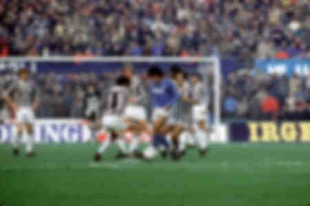 Platini Maradona Juventus Napels 1984