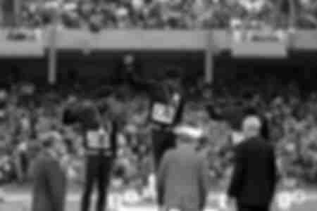 Podium Olympic Games Mexico 1968