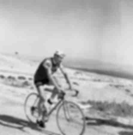 Raymond Poulidor - Ascent of Mont Ventoux
