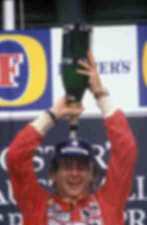 Senna 1991 Australia 2
