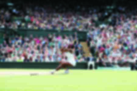 Serena Williams celebrates her victory at Wimbledon 2016