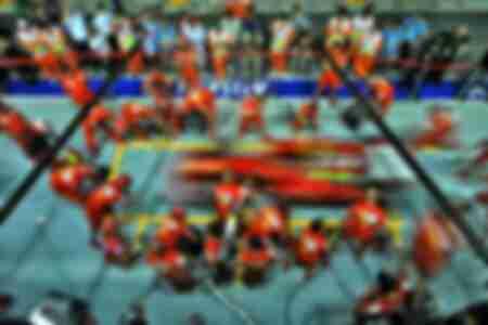 Stand de Ferrari - Gran Premio de Singapur 2008