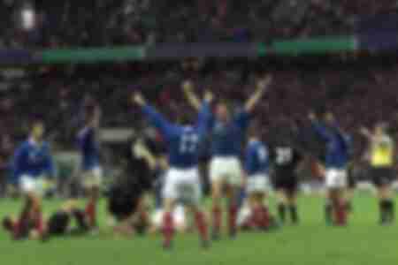 Victoire de l'équipe de France contre la Nouvelle Zélande en 1999
