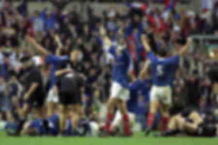 Victoire pour l'équipe de France face aux All Blacks - 1999