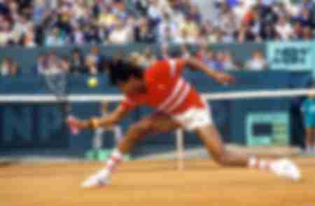 Yannick Noah Roland Garros 1987