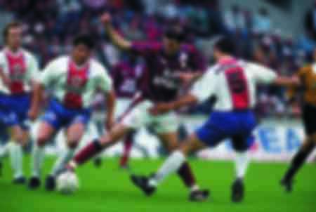 Match Zinedine Zidane - Bordeaux vs Paris Saint Germain