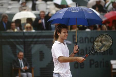 André AGASSI Roland Garros 1988