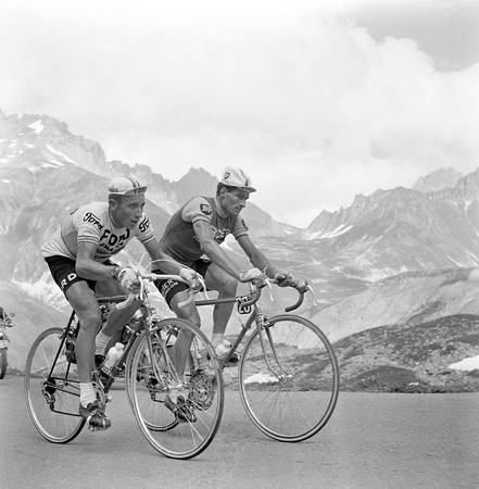 Anquetil and Poulidor - Tour de France 1966