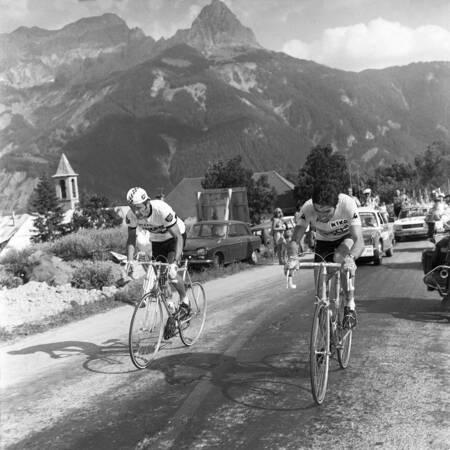 Bernard Thevenet e Eddy Merckx