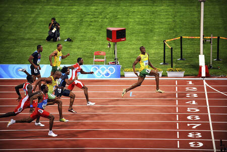 Bolt - 100m Olympic Games 2008