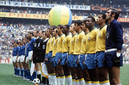 Brésil - Italie - Coupe du Monde 1970