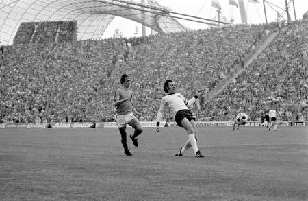 Cruyff e Beckenbauer World Cup 1974
