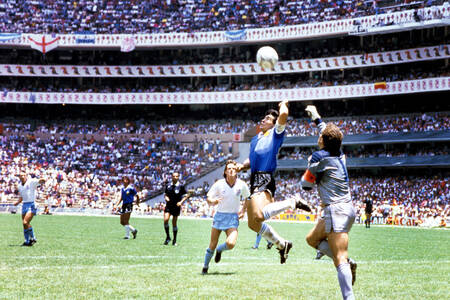 Diego Maradona - The hand of God