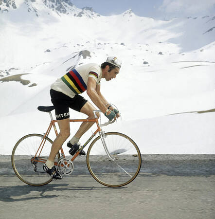 Effort Eddy Merckx