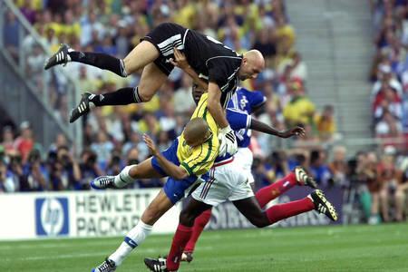 Endspiel der Weltmeisterschaft Frankreich - Brasilien 1998
