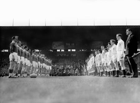 France vs Angleterre 1958