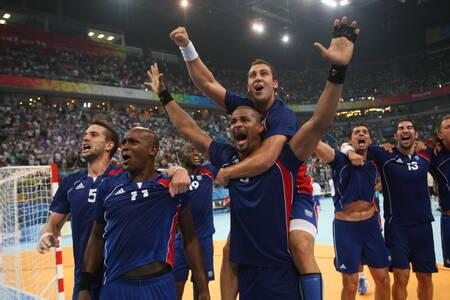 L'équipe de France de Handball remporte les JO en 2008