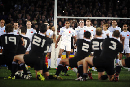 France vs New Zealand - World Cup 2011