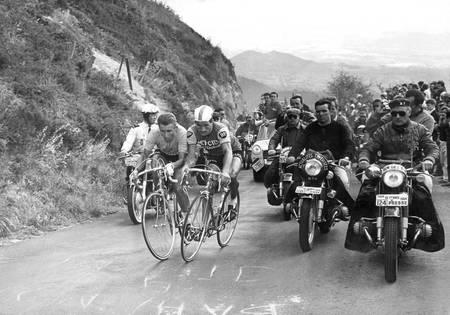 Jacques Anquetil et Raymond Poulidor
