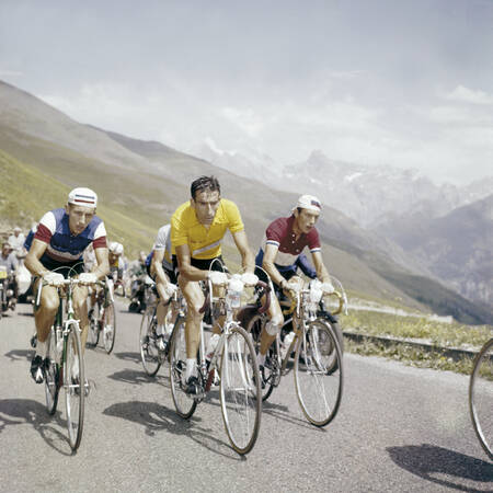Jacques Anquetil - Raphael Geminiani - Charly Gaul