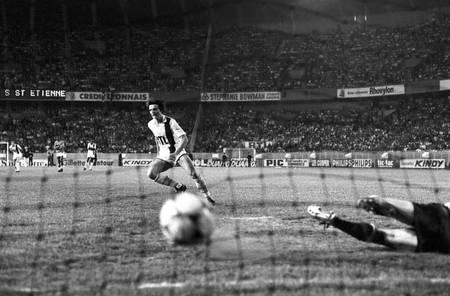 Jean-Marc Pilorget PSG - St-Etienne 1982