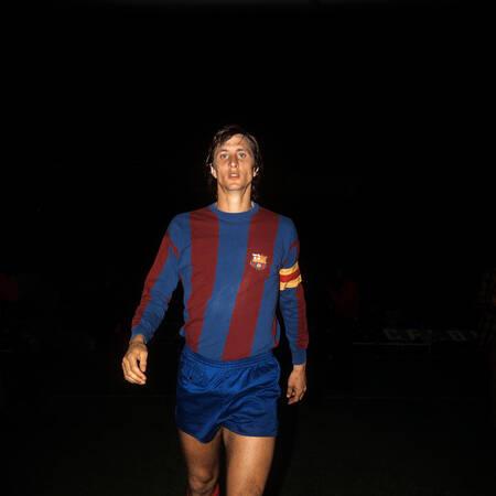 Johan Cruyff au FC Barcelone