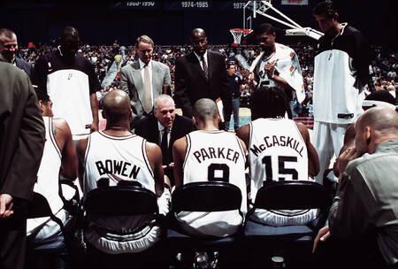 L'équipe des San Antonio Spurs de Tony Parker